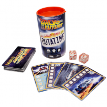 BACK TO THE FUTURE OUTATIME. JUEGO DE DADOS