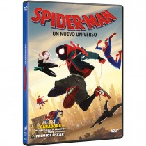 SPIDER-MAN: UN NUEVO UNIVERSO DVD