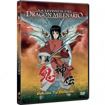 LA LEYENDA DEL DRAGON MILENARIO DVD