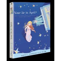 YOUR LIE IN APRIL - PARTE 2. episodios 12 a 22 DVD