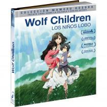 WOLF CHILDREN. Edición Digibook. BLU-RAY