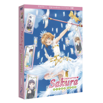 CARD CAPTOR SAKURA CLEAR CARD – BOX 1 DVD