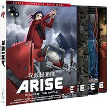 GHOST IN THE SHELL ARISE TEMP 1 (4 DVD)