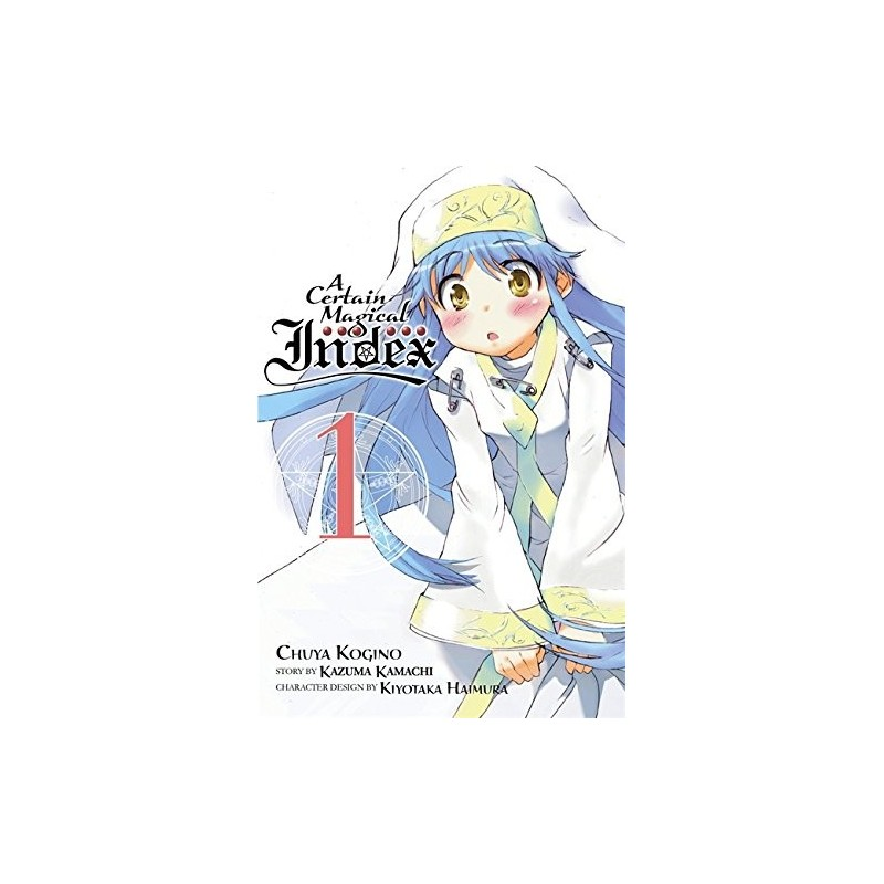 A CERTAIN MAGICAL INDEX 01 (INGLES - ENGLISH)