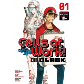 CELLS AT WORK! CODE BLACK 01 (INGLES - ENGLISH)