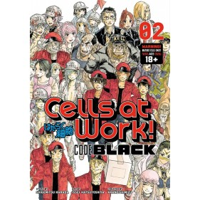 CELLS AT WORK! CODE BLACK 02 (INGLES - ENGLISH)