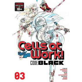 CELLS AT WORK! CODE BLACK 03 (INGLES - ENGLISH)