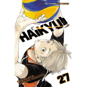 HAIKYU!! 27 (INGLES - ENGLISH)
