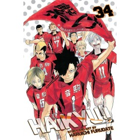 HAIKYU!! 34 (INGLES - ENGLISH)
