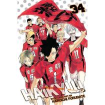 HAIKYU!! 34 (INGLES - ENGLISH)