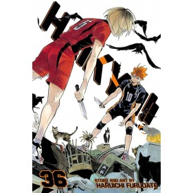 HAIKYU!! 36 (INGLES - ENGLISH)