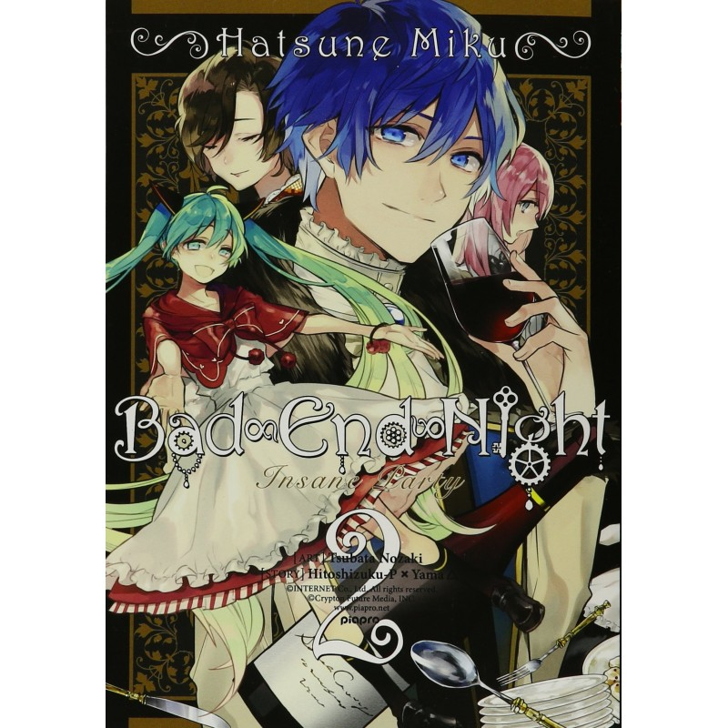 HATSUNE MIKU: BAD END NIGHT 02 (INGLES - ENGLISH)