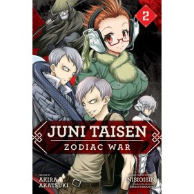 JUNI TAISEN: ZODIAC WAR MANGA 02 (INGLES - ENGLISH)
