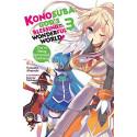 KONOSUBA 03 LIGHT NOVEL (INGLES - ENGLISH)
