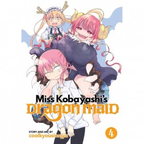 MISS KOBAYASHI'S DRAGON MAID 04 (INGLES - ENGLISH)