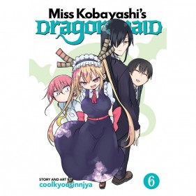 MISS KOBAYASHI'S DRAGON MAID 06 (INGLES - ENGLISH)