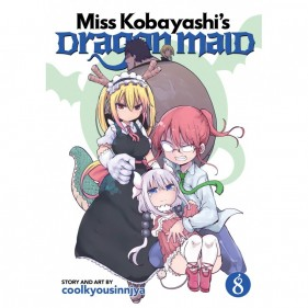 MISS KOBAYASHI'S DRAGON MAID 08 (INGLES - ENGLISH)