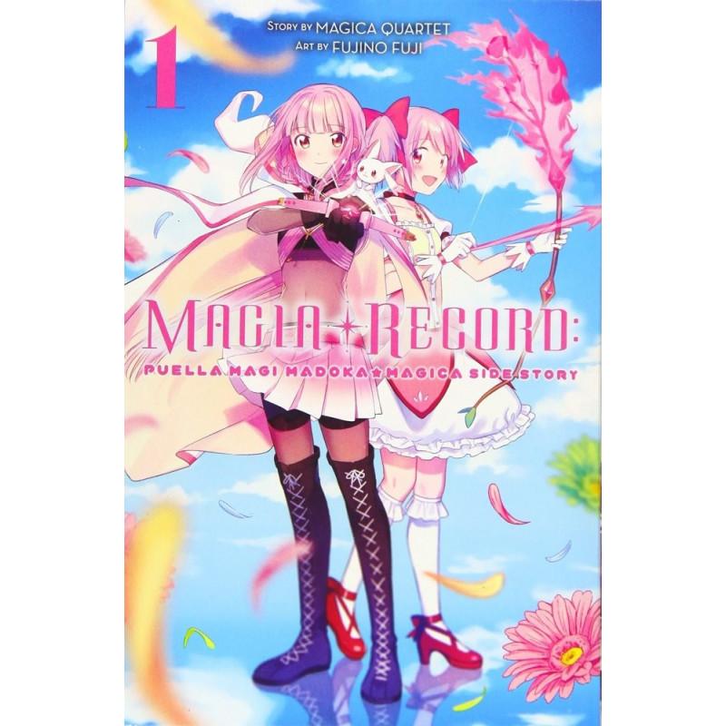 PUELLA MAGI MADOKA MAGICA: MAGIA RECORD 01 (INGLES - ENGLISH)