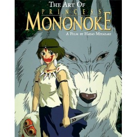 THE ART OF PRINCESS MONONOKE (INGLES - ENGLISH)