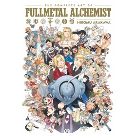 THE COMPLETE ART OF FULLMETAL ALCHEMIST (INGLES - ENGLISH)