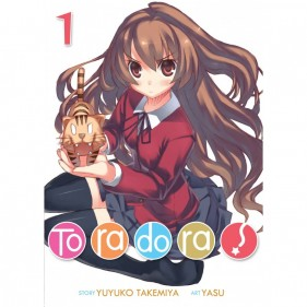 TORADORA 01 (LIGHT NOVEL) (INGLES - ENGLISH)