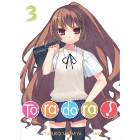 TORADORA 03 (LIGHT NOVEL) (INGLES - ENGLISH)