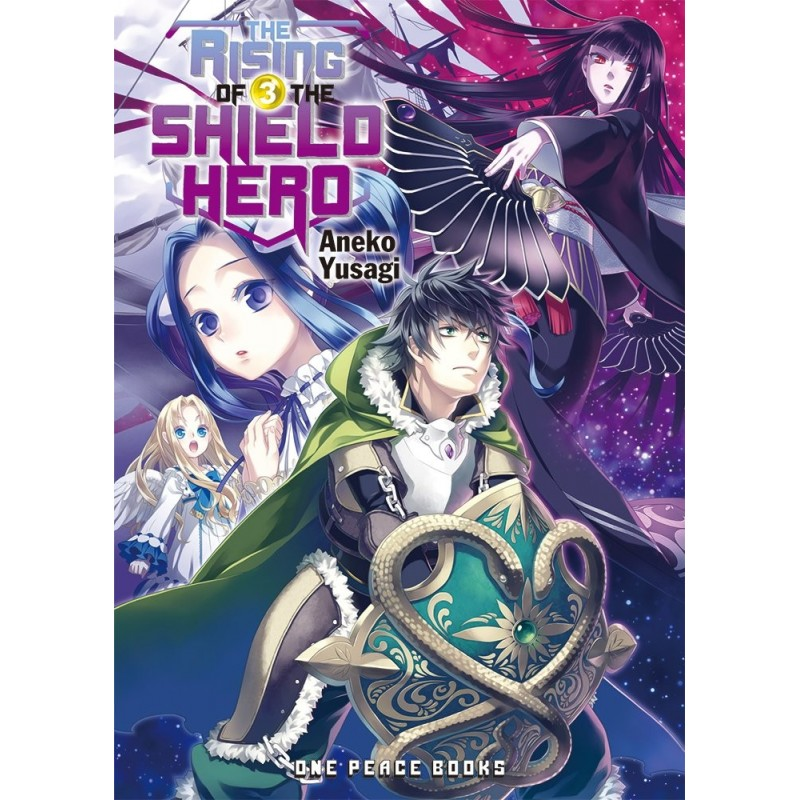 THE RISING OF THE SHIELD HERO (LIGHT NOVEL) 03  (INGLES - ENGLISH)