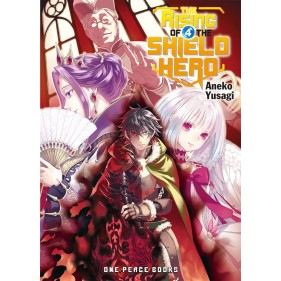 THE RISING OF THE SHIELD HERO (LIGHT NOVEL) 04  (INGLES - ENGLISH)