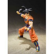 DRAGON BALL SON GOKU SAIYAN RAISED ON EARTH 14 CM SH FIGUARTS RE-ISSUE