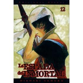 LA ESPADA DEL INMORTAL 12 - SEMINUEVO