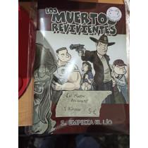 LOS MUERTOS REVIVIENTES, 3 NUMEROS - SEMINUEVO