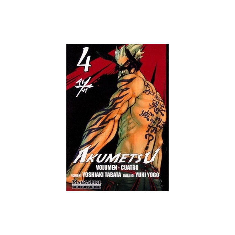 AKUMETSU 04 - SEMINUEVO