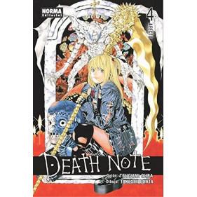 DEATH NOTE 04 (NRM) - SEMINUEVO