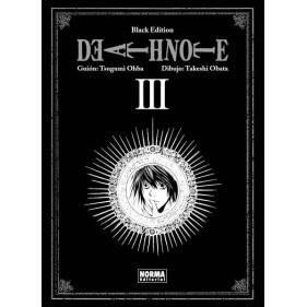 DEATH NOTE BLACK EDITION 03 - SEMINUEVO