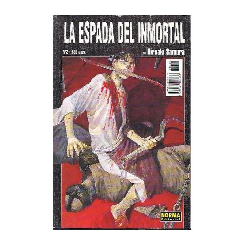 LA ESPADA DEL INMORTAL 02 (NRM) - SEMINUEVO