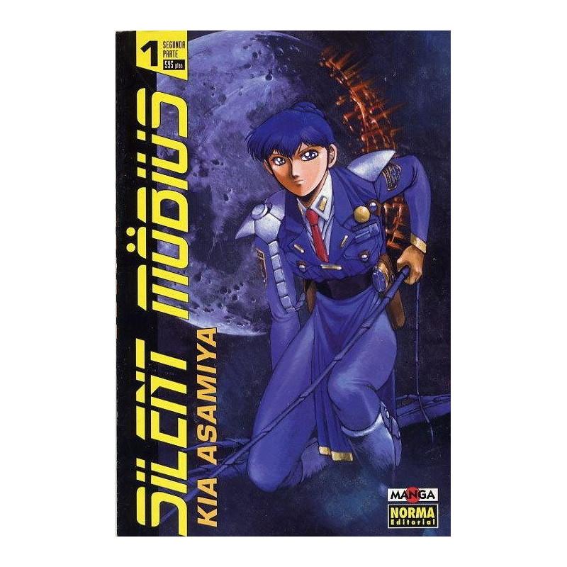 SILENT MOBIUS 01 SEGUNDA PARTE - SEMINUEVO