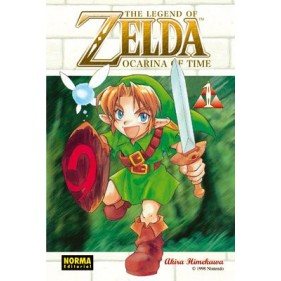 THE LEGEND OF ZELDA 01 - SEMINUEVO
