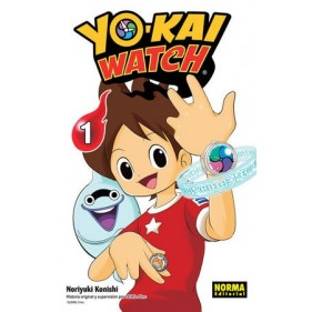 YO-KAI WATCH 01 - SEMINUEVO