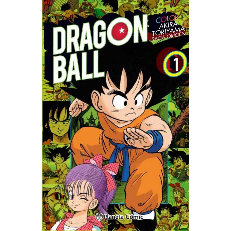 DRAGON BALL COLOR: ORIGEN 01 - SEMINUEVO