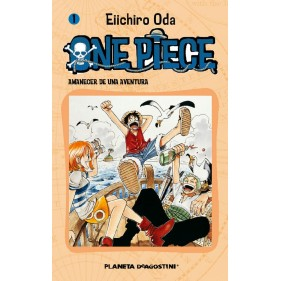 ONE PIECE 01 - SEMINUEVO