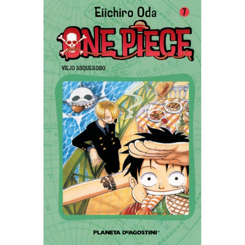 ONE PIECE 07 - SEMINUEVO