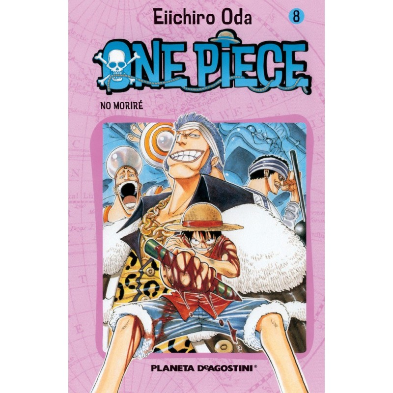 ONE PIECE 08 - SEMINUEVO