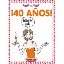 40 AÑOS WHAT THE FUCK! - SEMINUEVO