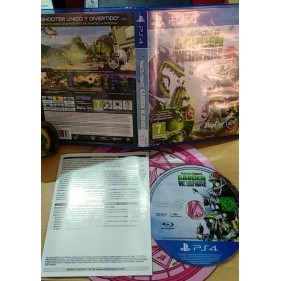 PLANTS VS ZOMBIES GARDEN WARFARE (PS4) - SEMINUEVO