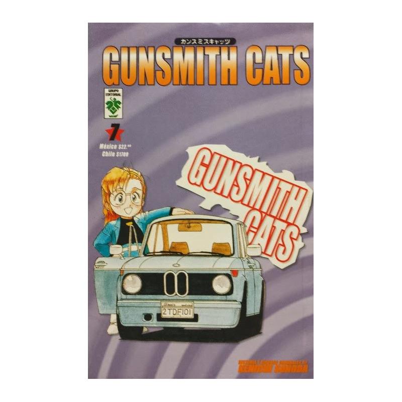 GUNSMITH CATS 07 (VID) - SEMINUEVO