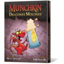 MUNCHKIN EXP. DRAGONES MOLONES
