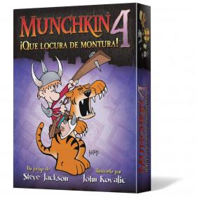 MUNCHKIN EXP. 4: ¡QUE LOCURA DE MONTURA!