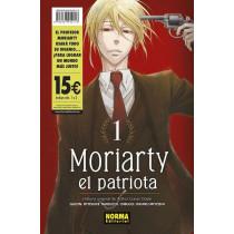 MORIARTY EL PATRIOTA PACK 01 Y 02