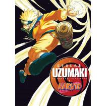 NARUTO UZUMAKI ARTBOOK (JAPONES) - SEMINUEVO