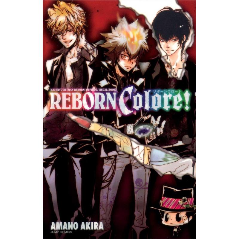 REBORN COLORE! ARTBOOK (JAPONES) - SEMINUEVO